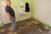 Velká voda pronikla také do nejníže položeného domku v Osečné, domu Kratochvílových. Ten byl vyplaven během tohoto měsíce už podruhé.