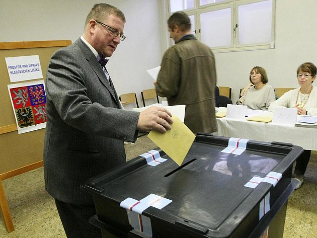 Volby v Liberci.