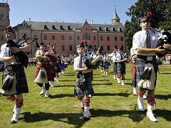 Skotské hry na zámku Sychrov