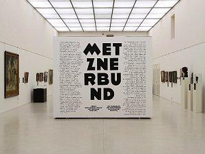 Výstava Metznerbund v Oblastní galerii.