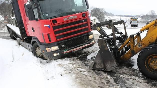 Sněhová kalamita na Liberecku