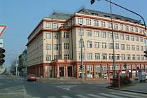 Bývalý Skloexport v Liberci.