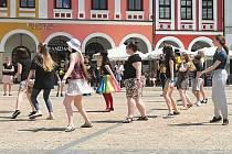 Flash mob v Liberci