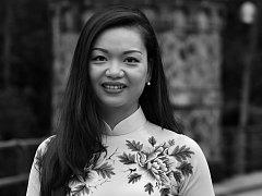 Vietnamská překladatelka Lien Hoang