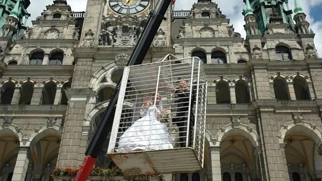 Svatby mohou být velmi netradiční