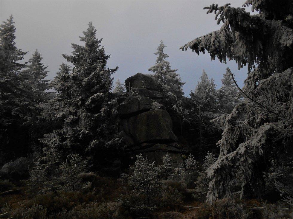 Sněžné věžičky.