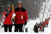 Ski areál Ještěd. Ilustrační foto