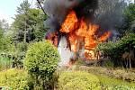 Požár včelína způsobila nedbalost majitelky.