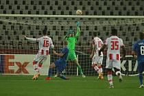 Utkání v Srbsku Slovan vysoko prohrál.