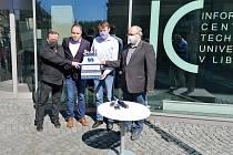 Jizerská 50 pro první linii nakonec darovala Technické univerzitě Liberec rovný milion korun.