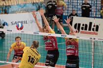 Finále extraligy – 1. zápas: Liberec – Brno.