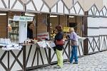 Farmářské trhy se konaly 13. července v Kostelní ulici u liberecké radnice.