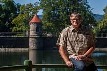 Martin Vrchovský, hrázný přehrady v Liberci.
