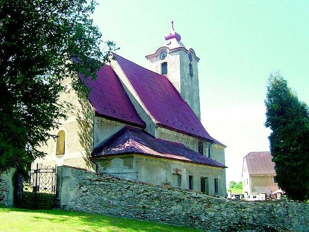 Kostel v Horní Řasnici.