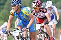 Ve sportovním areálu Vesec odstartoval CykloMaratonTour 2009 Okololiberce.