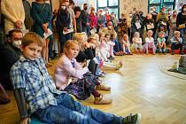 První školní den v ZŠ Na Výběžku v Harcově.