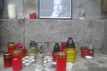 Lidé vzpomínali na Václava Havla.