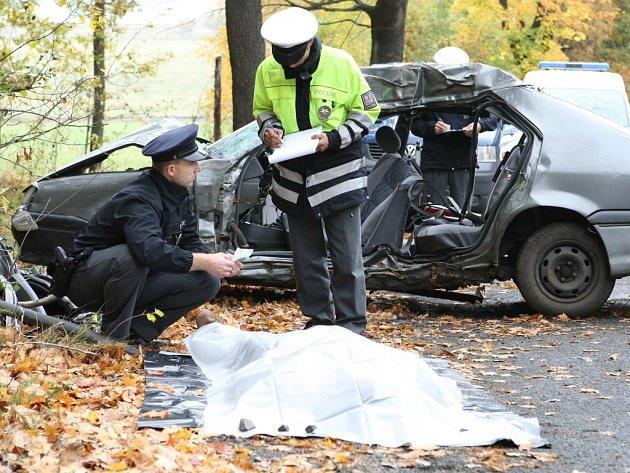 Smrtelná nehoda u Horní Řasnice. Poláci se vraceli z hub.
