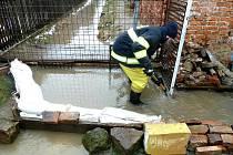U Hrádku nad Nisou se vylil Donínský potok.