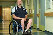 iří Suchánek, liberecký stolní tenista, který se zúčastní paralympiády v Londýně.