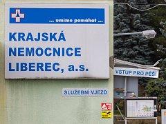 Krajská nemocnice Liberec.