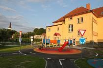 V Osečné dokončili dětské dopravní hřiště.