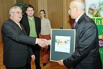 Vyhodnocení soutěže Zlatý erb. Ilustrační foto.