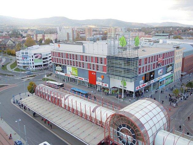 Centrum Forum v Liberci. Ilustrační foto.