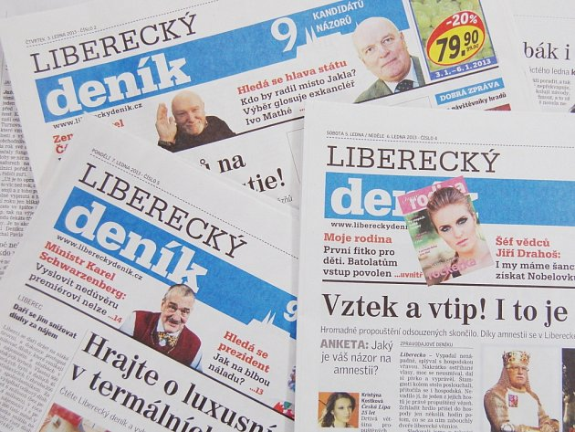 Čtěte Liberecký deník.