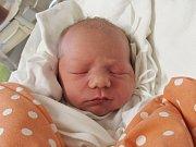 MATYAŠ HADRAVA  Narodil se 25. ledna v liberecké porodnici mamince Haně Hadravové z Frýdlantu v Čechách. Vážil 3,18 kg a měřil 49 cm.