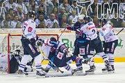 Páté utkání semifinále Generali play off Tipsport extraligy ledního hokeje mezi celky Bílí Tygři Liberec a Piráti Chomutov se odehrálo 7. dubna v liberecké Home credit areně.