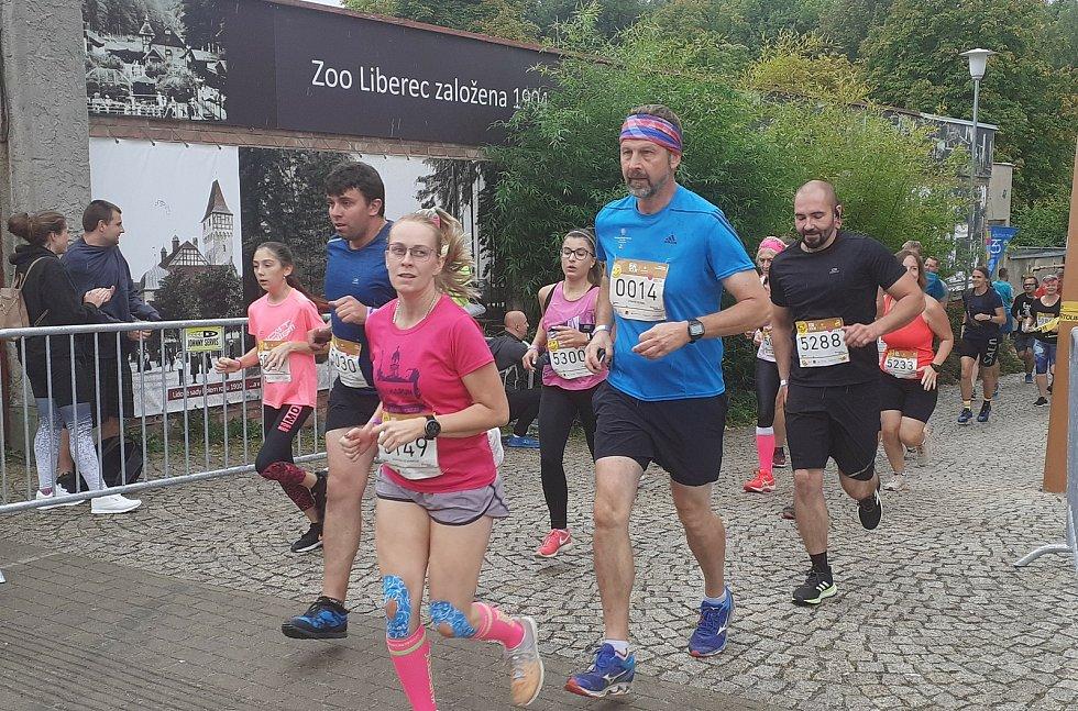 Liberec se stal jednou z osmi zastávek seriálu běžeckých závodů ČEZ RunTour.