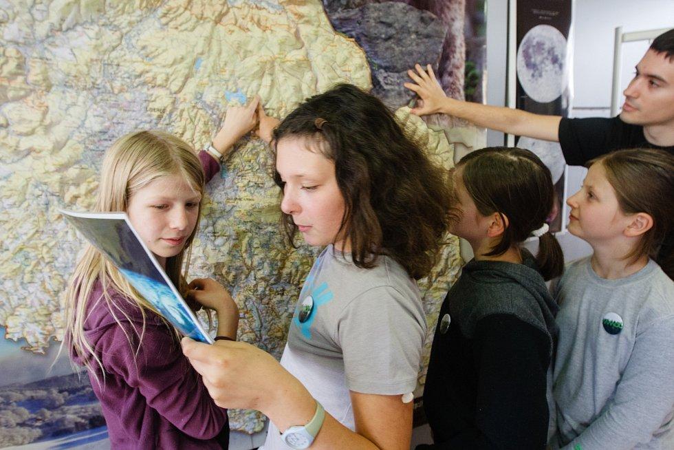 Akce Mapy kolem nás v Krajské vědecké knihovně v Liberci