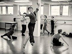 Zkouška baletu Vánoční koleda.