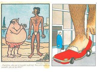 DO REDAKCE přišlo dvacet dopisů, které se vymezovaly proti výroku Ladislava Špačka o chlupatých nohách. Součástí některých byly i ilustrace, fotografie i básně.