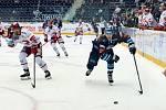 Čtvrtý zápas finále mezi hokejisty Liberce a Třince.