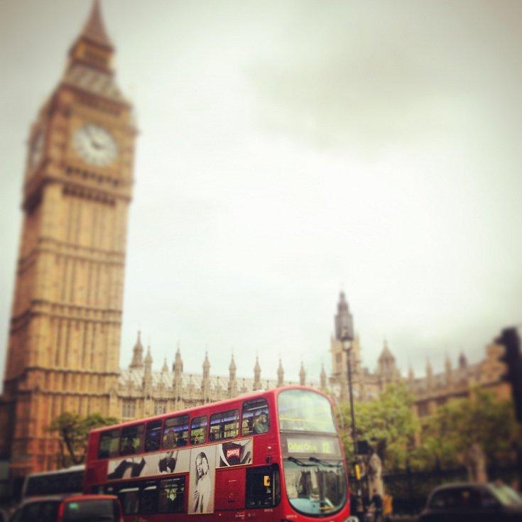 Big Ben, Londýn.