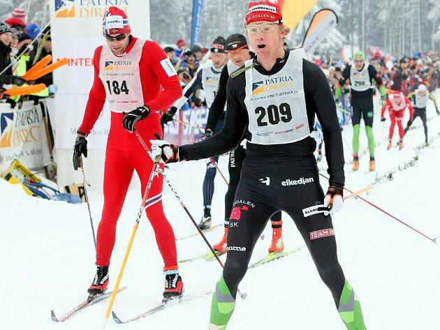 HVĚZDY ZÁVODU. Mezi elitními běžkaři, kteří do Bedřichova zamíří, je i norský závodník Thomas Alsgaard (vlevo).