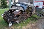 V Raspenavě na Liberecku se 24. dubna ráno srazila Škoda Felicia s Velorexem. Na místě zasahovali hasiči, záchranáři a policisté.