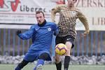 Chrastava (v modrém) podlehla v přípravném fotbale libereckému dorostu U18.