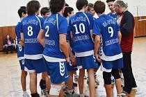 Liberečtí volejbaloví žáci TJ Slavie