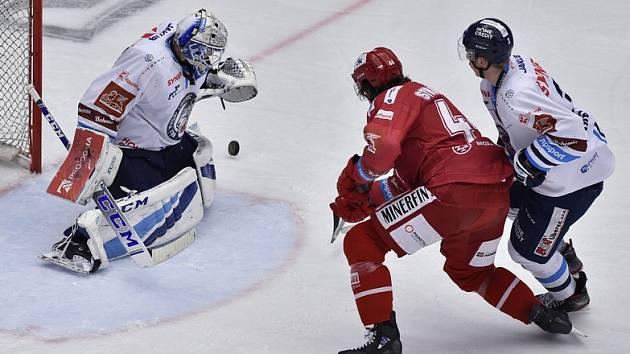 Liberec vysoko prohrál na ledě Třince. Domácím pomohla čtyřgólová druhá třetina.