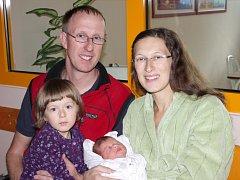 Mamince Simoně Kratochvílové z Janova nad Nisou se dne 24. září v liberecké porodnici narodila dcera Rozálie Benešová. Měřila 50 cm a vážila 3,31 kg.