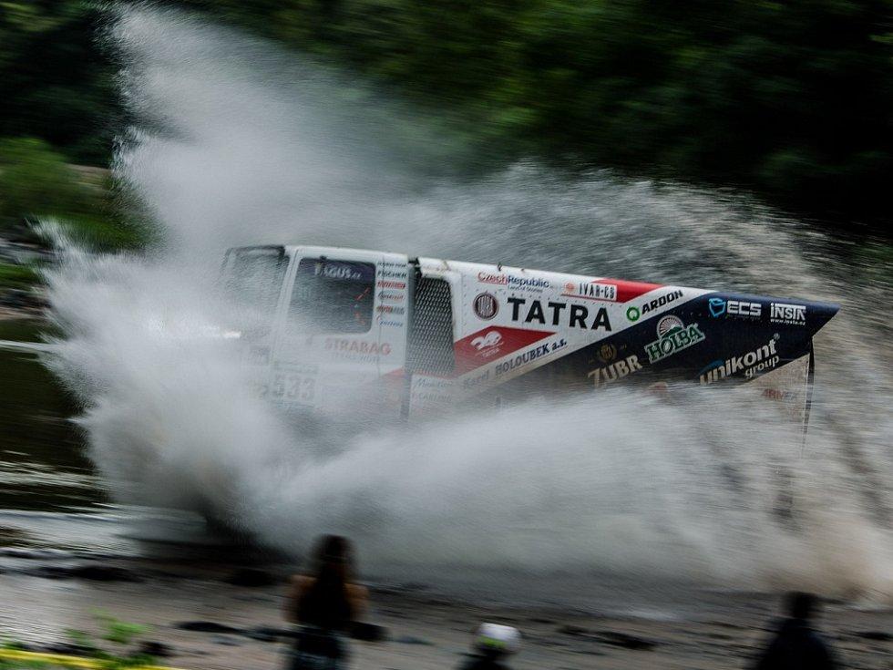 Letošní Rallye Dakar.
