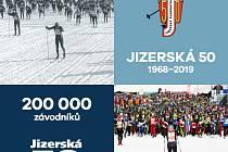Jizerská 50 slaví 200 000. účastníka.
