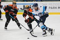 Rostislav Marosz (v modrobílém) v utkání s Kouvolou.