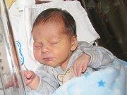 PETR JEMELKA  Narodil se 7. listopadu v liberecké porodnici mamince Nikole Jemelkové z Radčic u Liberce.  Vážil 3,30 kg a měřil 52 cm.