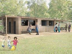 VIZUALIZACE plánovaného parku na Nové Rudě.