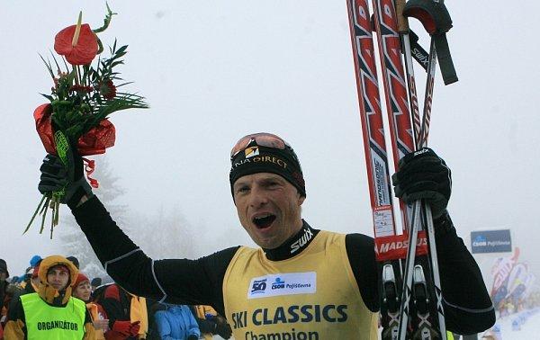 Stanislav Řezáč vyhrál Jizerskou 50.