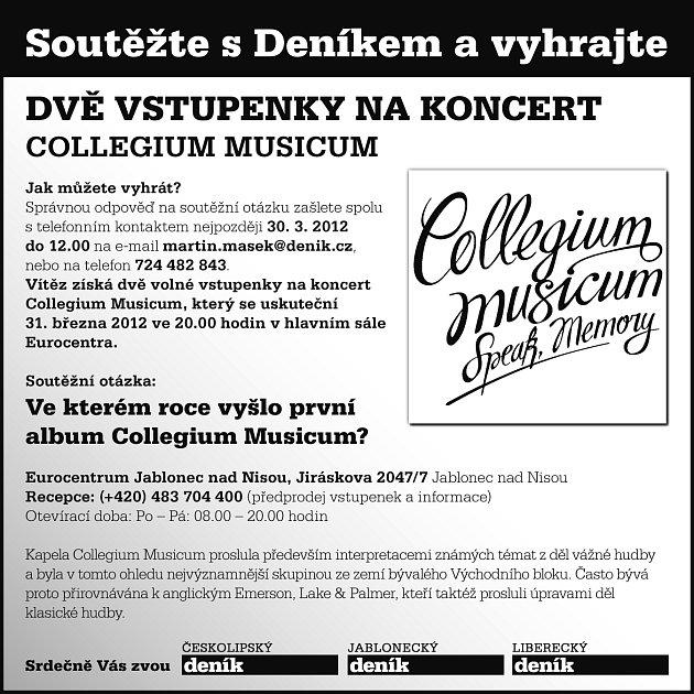 Soutěž Collegium Musicum